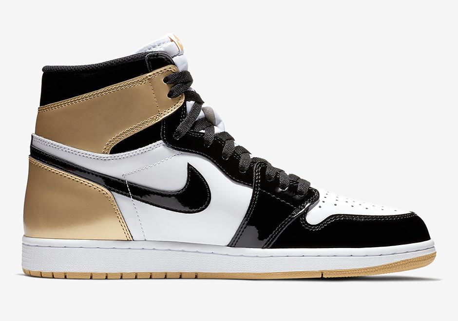 save off ccc2e 3b9bc Air Jordan 1 Top 3 Black Gold 861428-001 Release Info ...