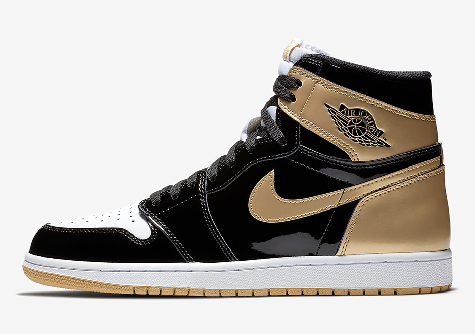 "2c7e4f3b69d6 Air Jordan 1 Top 3 ""Black Gold"" Release Date  November 27th"