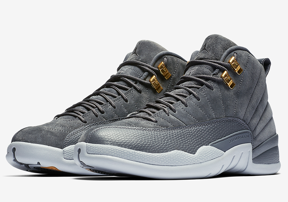 "new arrival 0127f b96ab Air Jordan 12 ""Dark Grey"" Available Via Nike Early Access"