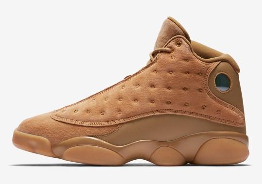 """The Air Jordan 13 """"Wheat"""" Releases In One Week"""