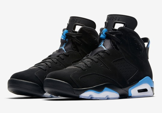 "Official Images Of The Air Jordan 6 ""UNC"""