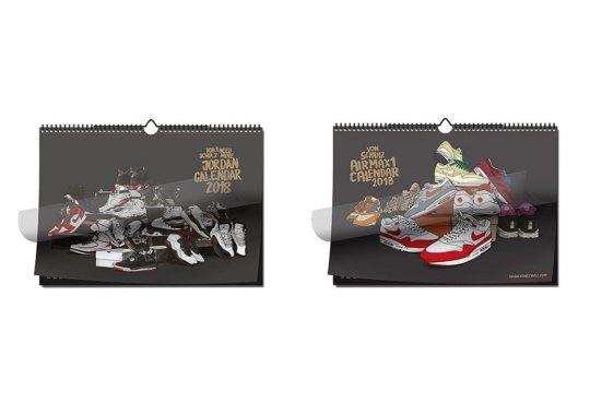 Air Jordan And Air Max 1 Calendars By Schulz Releases Tomorrow