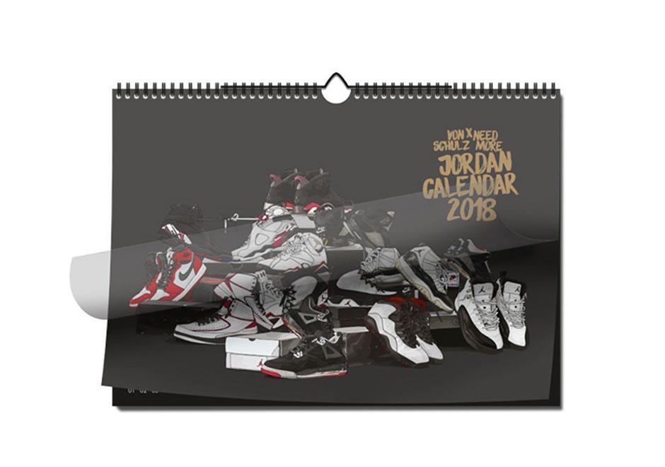 Luft Jordan 2018 Kalender 5iAAo