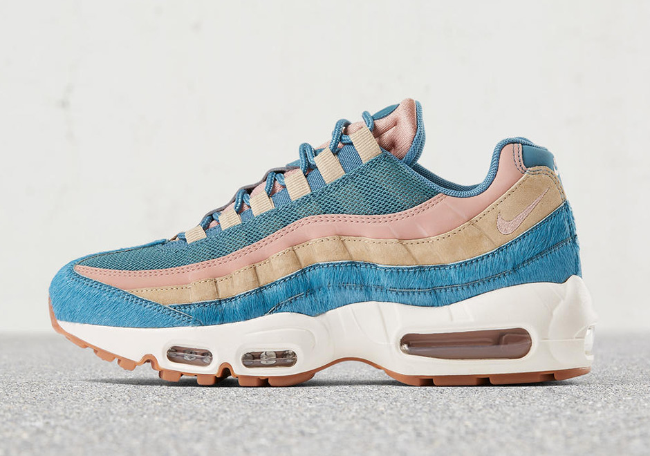 quality design 40139 09ef6 Nike Air Max 95 LX WMNS Embossed Fur Pack Release Info ...