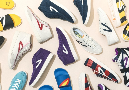Andre 3000, Jeff Staple, And Tretorn Introduce A Full Collaborative Collection Of Footwear