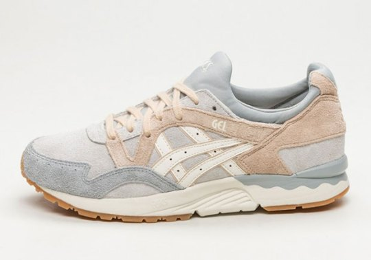 ASICS Pairs Grey And Cream Suede For The GEL-Lyte V