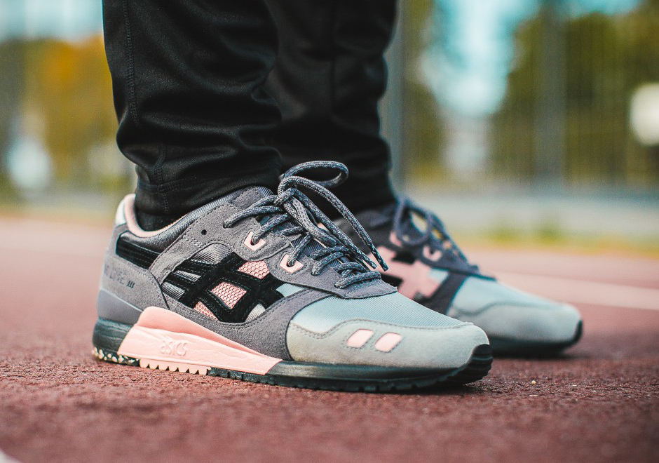 ec6cbdfc98ed ASICS Tiger and WOEI are teaming up yet again to release a new GEL-Lyte III  with premium materials and the kind of eclectic color palette fans of past  ...