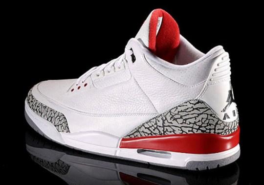 """Air Jordan 3 """"Katrina"""" Releasing Next May Without Nike Air"""
