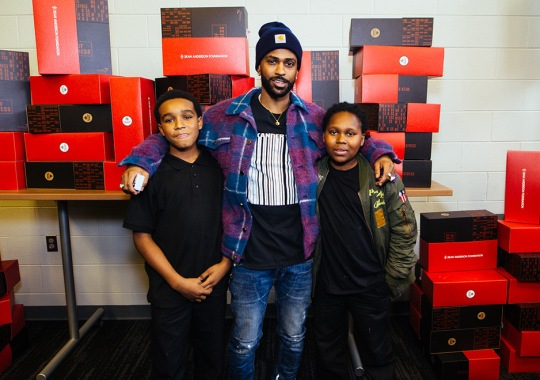 Big Sean and Puma Give Back To Detroit with Foot Locker's Week Of Greatness