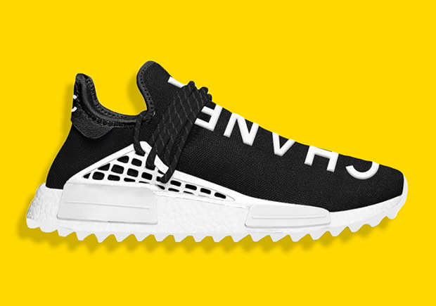 b9483fc518c95 ... latest How To Buy The Chanel x Pharrell x adidas NMD Hu  sneakers  Pharrell x Adidas Human Race ...