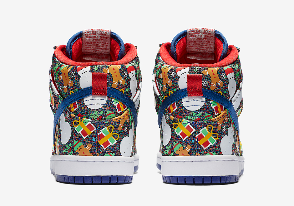 best service f1fcd f110c Concepts Nike SB Dunk High Ugly Christmas Sweater SNKRS Release Date ...