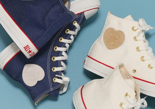 Converse To Celebrate 100th Anniversary With Heart-Shaped All-Star Logo