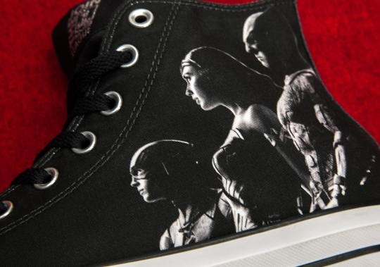 Justice League Teams With Converse For Limited Edition Chuck Taylor