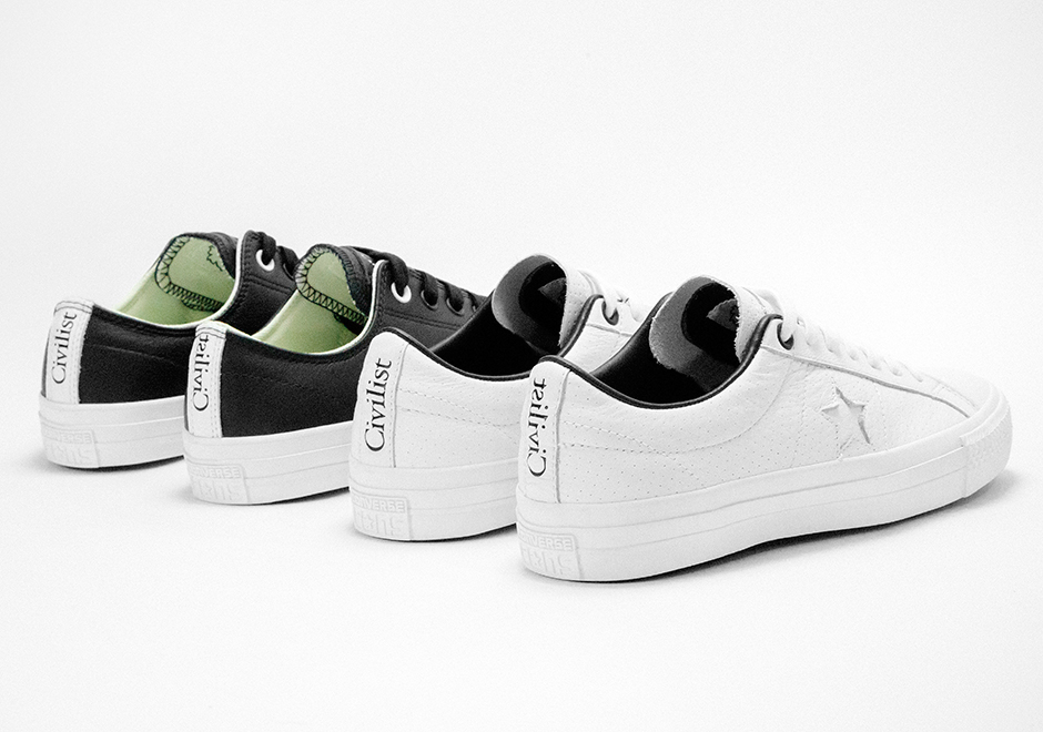 e00b179cb31d Converse is collaborating with Berlin-based skate shop Civilist to  celebrate the city the shop calls home with two signature Converse models –  the One Star ...