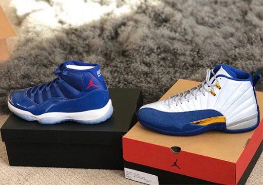 "Dexter Fowler Receives Air Jordan 11/12 ""Championship Pack"""