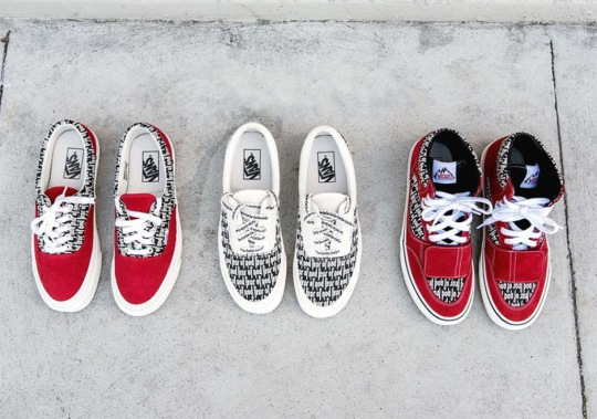 Fear Of God x Vans Releasing At Complex Con, Later Again This Month