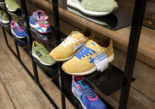 Footpatrol Opens Exhibit Of Their ASICS Collaboration Archive