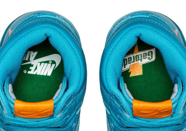 jordan gatorade shoes blue