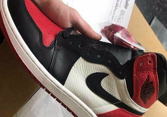 "Lucky Sneakerhead Gets Air Jordan 1 ""Bred Toe"" Shipped Early From Eastbay"