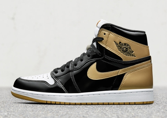 "Store List For Air Jordan 1 Top 3 ""Black/Gold"" Releasing On Cyber Monday"
