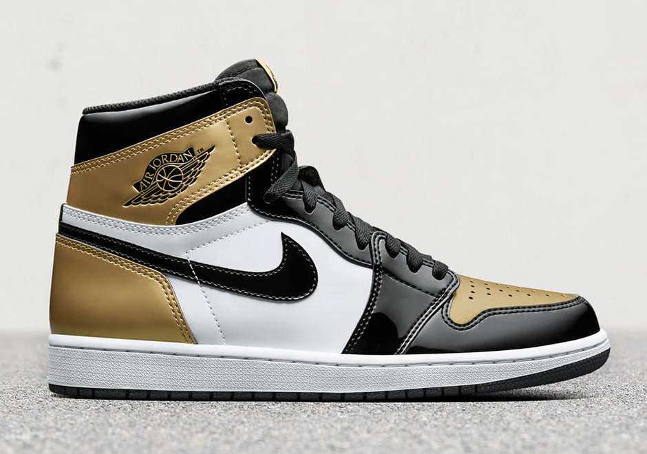 """4efb0943d1580 More Elephant Print On The Air Jordan 1 High For 2016.The 'Black Toe""""  Jordan 1 is one of the most beloved OG colorways of arguably the most  iconic Jordan ..."""