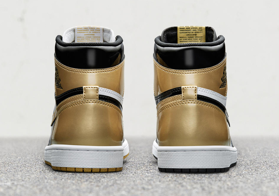 2e296e79b281 Air Jordan 1 Top 3 Black Gold Store List - Cyber Monday Release ...