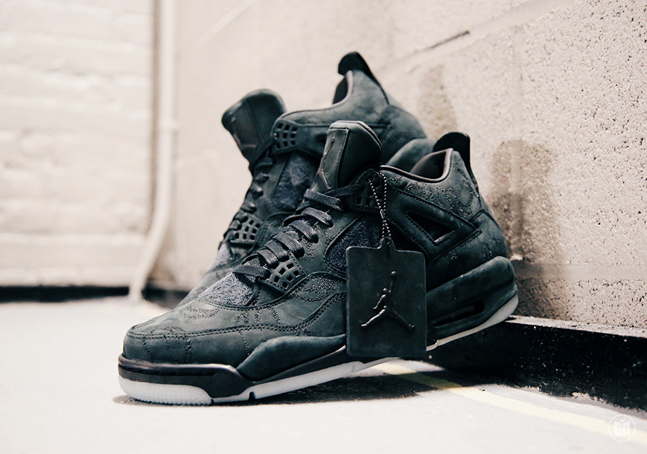 8350305e807b97 The Black KAWS x Air Jordan 4 Will Be Exclusive To KAWS