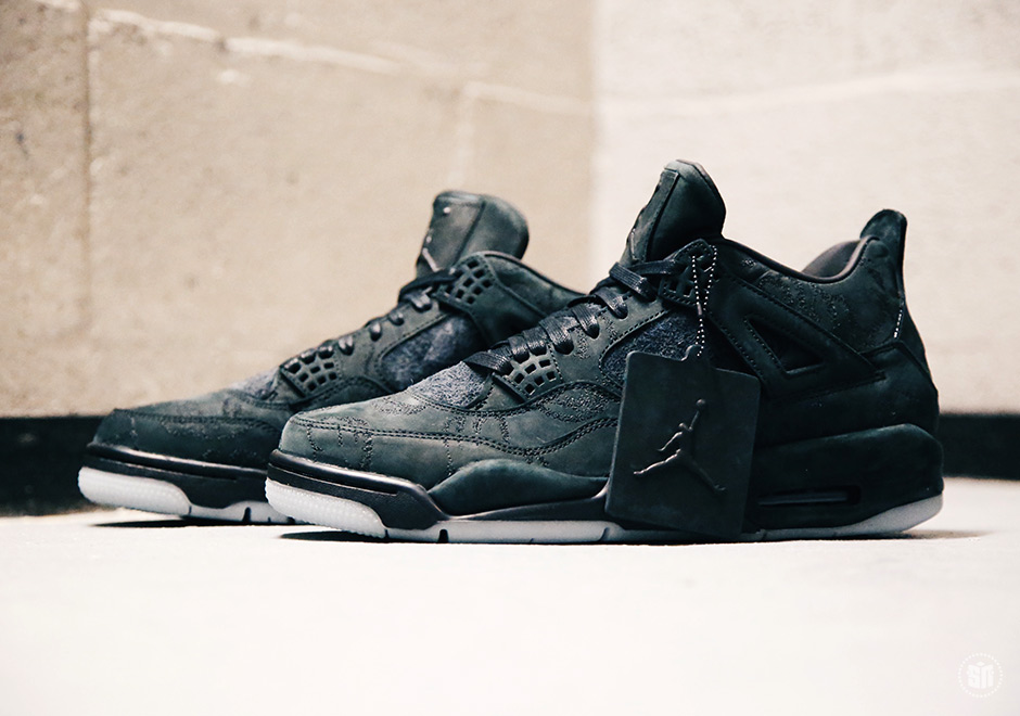 adaec9dac3520b The KAWS x Air Jordan 4 In Black Is Releasing On Black Friday
