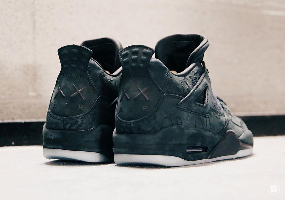 the latest 6f592 ee047 Jordan 4 KAWS Black Release Date Info   SneakerNews.com