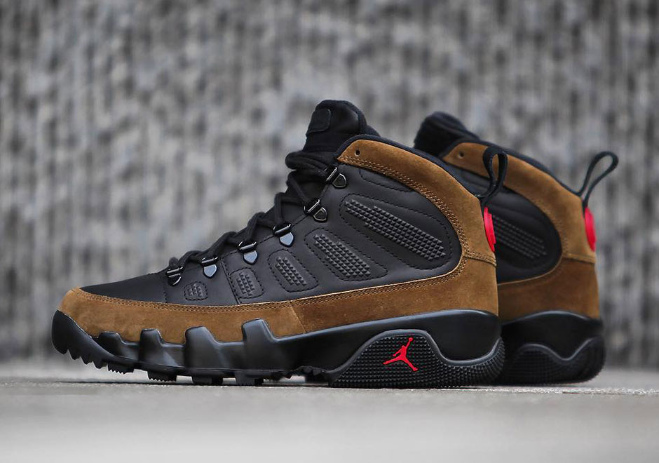 "1b42700521723 The Air Jordan 9 is getting a new twist on a reboot of an original 1994  colorway that gets the classic silhouette ready for the winter. The Jordan 9  ""Olive"" ..."