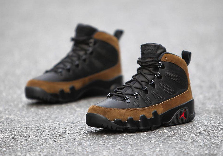 813fcb81f3e7 Air Jordan 9 NRG Olive Boot AR4491-012 Release Details + Photos ...
