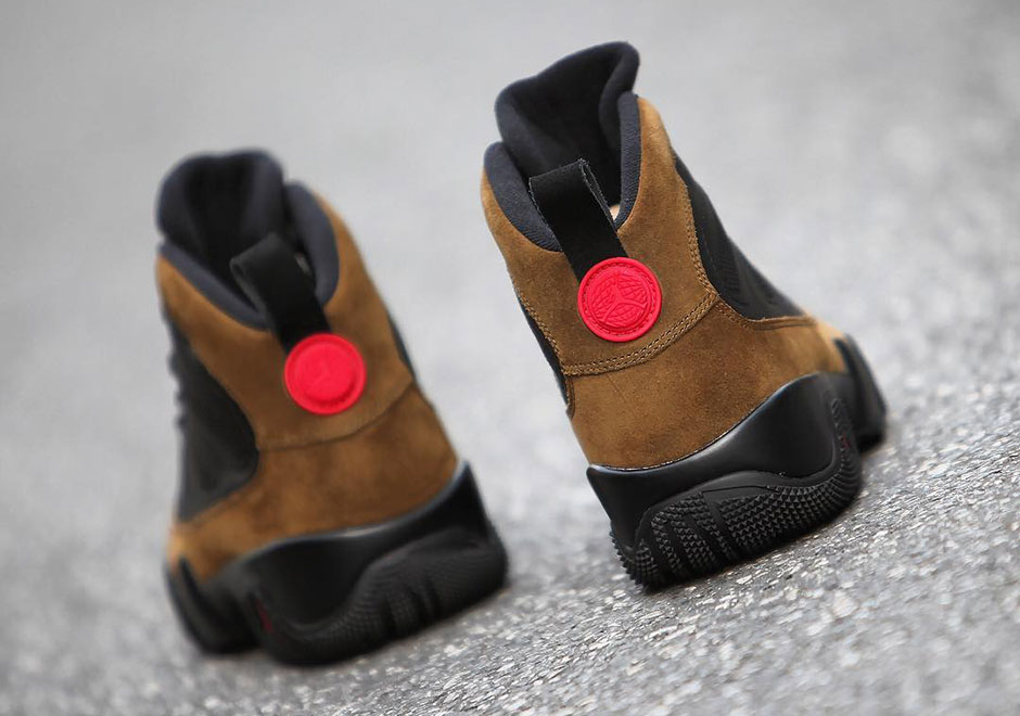 purchase cheap def57 49c0c Air Jordan 9 NRG Olive Boot AR4491-012 Release Details + ...