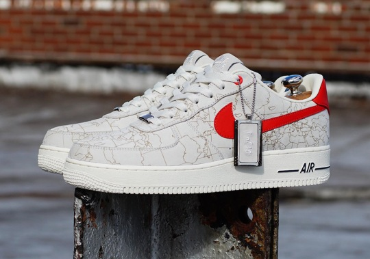 Global Citizen And M5 Created Limited Edition Nike Air Force 1 Low To Fight World Hunger