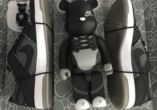 Is The Medicom Toy x Nike SB Dunk Elite Releasing In A Pack With A BE@RBRICK Figure?