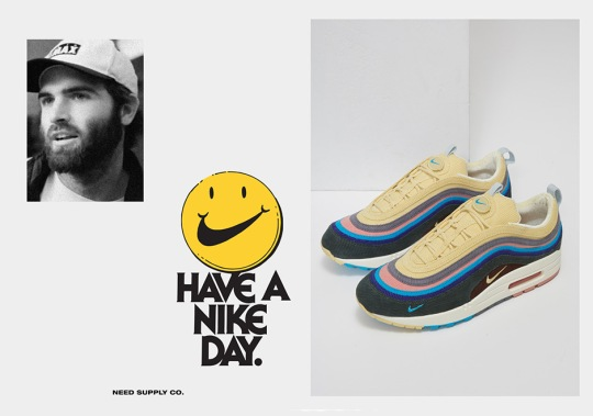 Online Raffle For The Sean Wotherspoon x Nike Air Max 97/1 Is Now Live