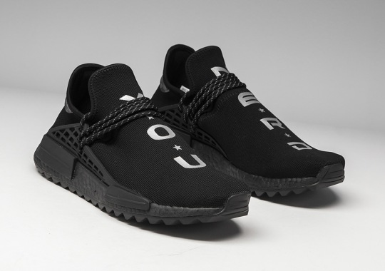 The N*E*R*D* x adidas NMD Hu Trail Is Available At Stadium Goods