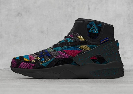Nike And Boston's Bodega Offers Up The Air Mowabb With Pendleton Fabrics