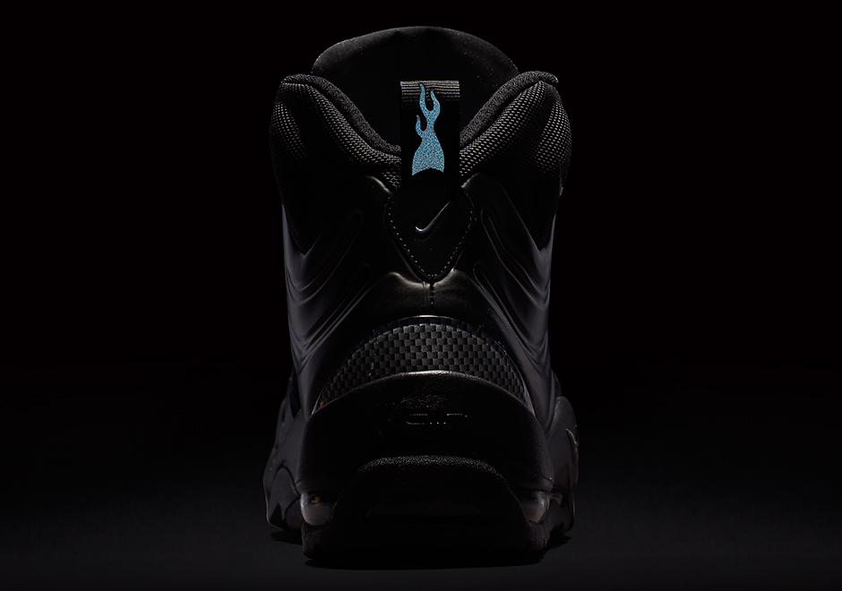 9aa74a5b25b1c Nike Air Bakin Posite Triple Black 618056-001 Available Now ...