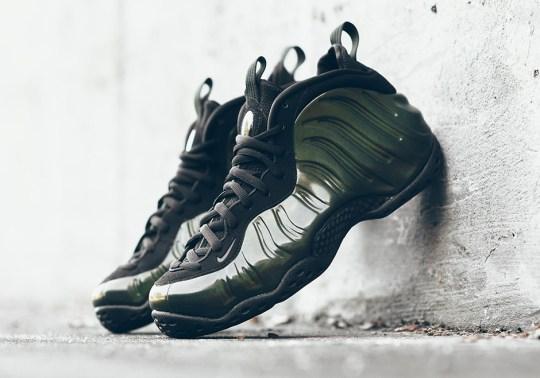 "The Nike Air Foamposite One ""Legion Green"" Drops Next Week"