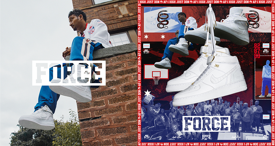 Official Nike SNKRS Release Info For The Air Force 1 AF100 ...