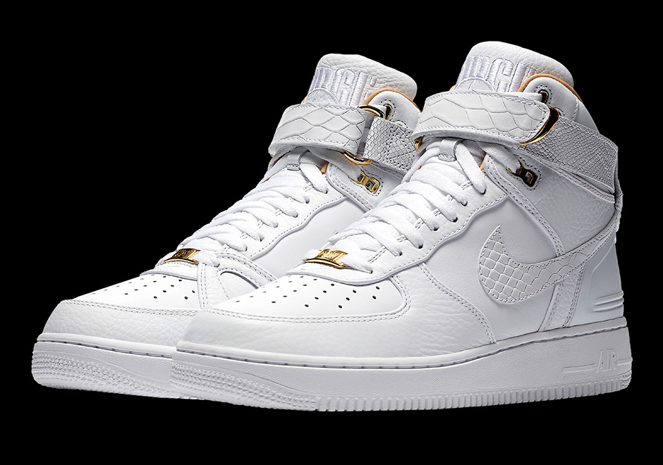 sale retailer 62105 f9894 Nike Air Force 1 Just Don Release Date  December 1st, 2017  200. Color   White White-White Style Code  AO1074-100