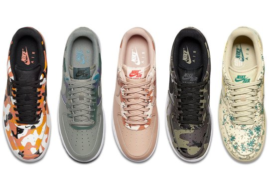 """Nike Air Force 1 Low """"Country Camo"""" Pack Is Dropping Soon"""