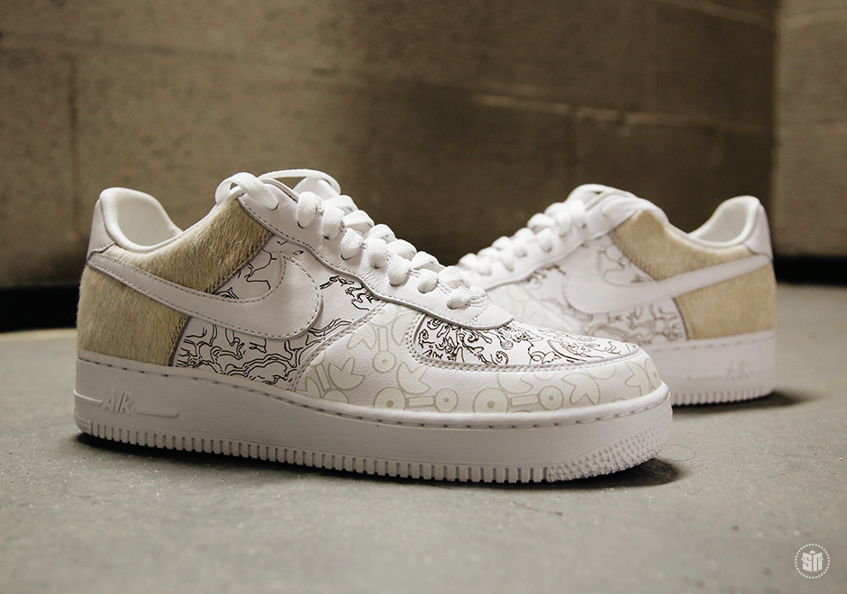 fa5b8f179 Nike Air Force 1 Low Year Of The Dog YOTD A09281-100 | SneakerNews.com