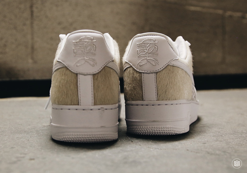 new styles bc0b7 a3299 Nike Air Force 1 Low PRM YOTD 18. Color WhiteWhite-White