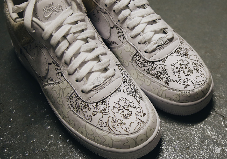 6cde19670 Nike Air Force 1 Low PRM YOTD '18. Color: White/White-White Style Code:  A09281-100. Advertisement