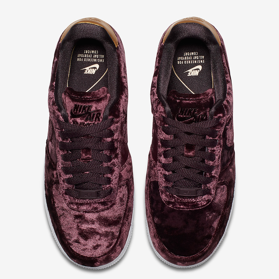 on sale 7fd78 1856c Nike Air Force 1 Low CS Release Date December 1, 2017. AVAILABLE AT JD  Sports £80.00. Style Code 896185-600 (Burgundy) Style Code 896185-300  (Green)
