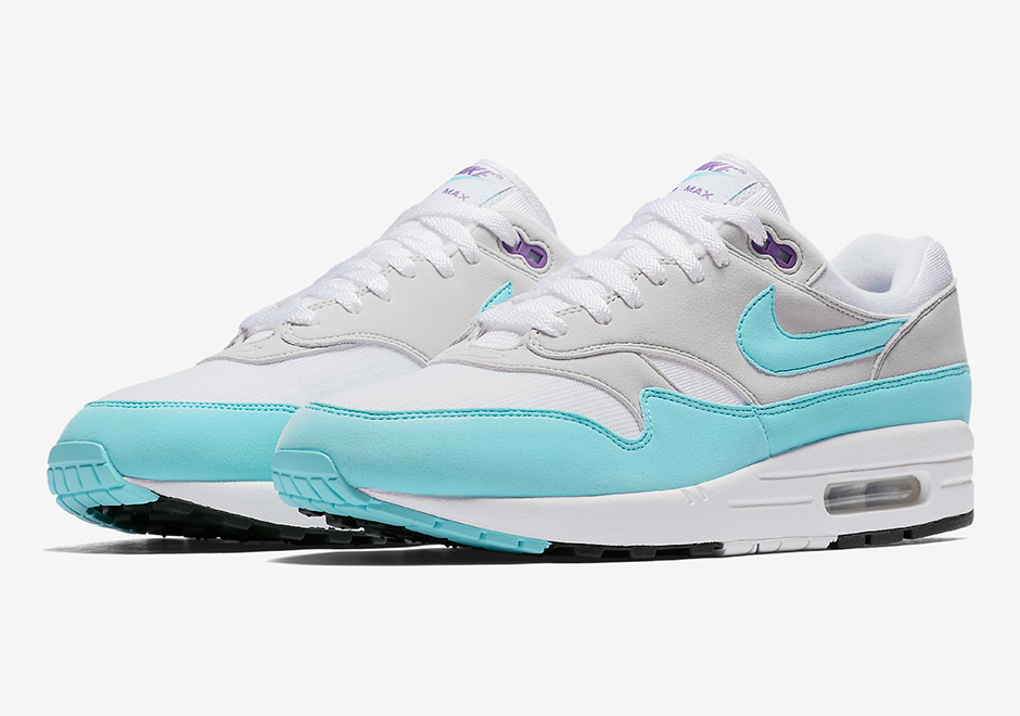 """add9d89c724 The Nike Air Max 1 Anniversary """"Aqua"""" Is Coming In 2018"""