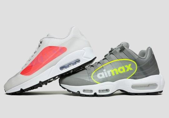 """Nike's """"Giant Logo"""" Air Maxes Release Tomorrow"""