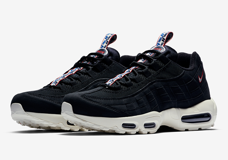big sale dffa6 891ff Three New Nike Air Max 95 Colorways with Unique Pull-tabs ...