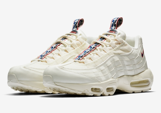 The Nike Air Max 95 Gets Unique Pull-tabs In Three Colorways